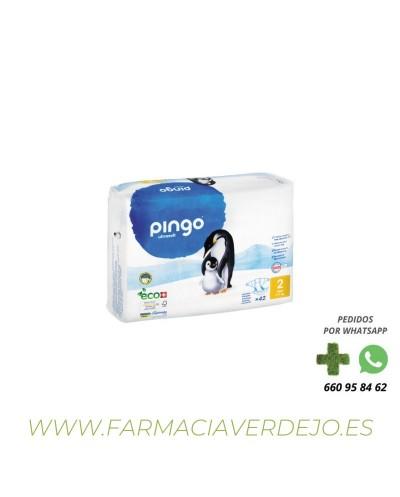 PINGO PAÑALES T2 3-6KG BIO...